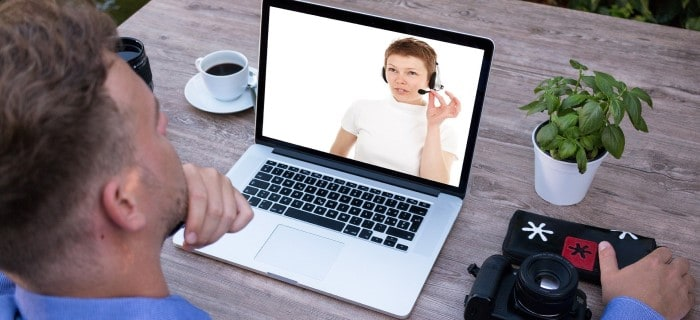 Banca por Video