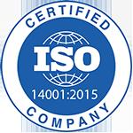 Certificazioni di Auriga - ISO 14001 2015