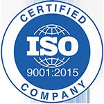 Certificazioni di Auriga - ISO 9001 2015
