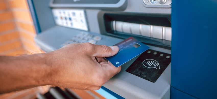 Contactless ATMs