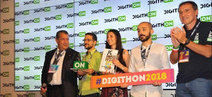 La startup cagliaritana Eablock trionfa a Digithon 2018 Oggi alle 16:55 Domenico Di Bartolomeo premia EAblock al Digithon 2018 È EAblock la startup prima classificata di Digithon2018, la maratona delle… Approfondisci