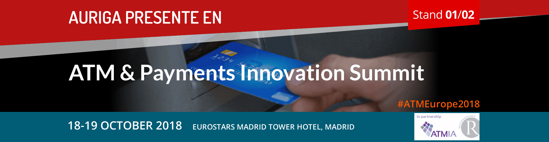 ATMIA Atm & Payments Innovation Summit 2018 Madrid