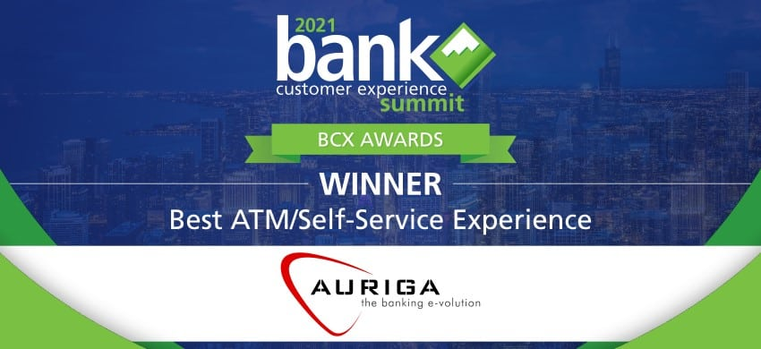 best atm self service experience auriga